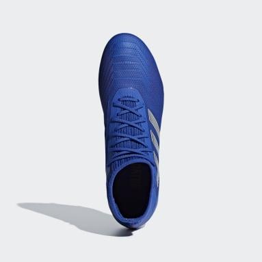 Men's Soccer Blue Predator 19.2 Firm Ground Cleats