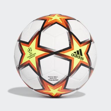 Balón de Entrenamiento UCL Pyrostorm Blanco Fútbol