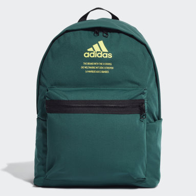 Lifestyle Green Classic Fabric Backpack