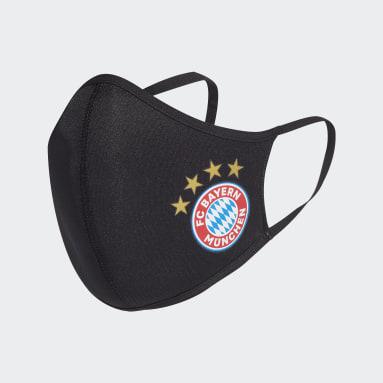 Masque FC Bayern TP/P (3 articles) - Non adapté à un usage médical noir Sportswear