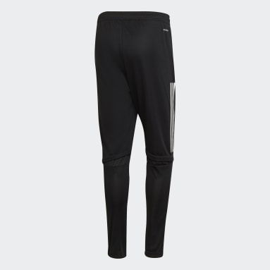 Men Football Black Olympique Lyonnais Training Pants