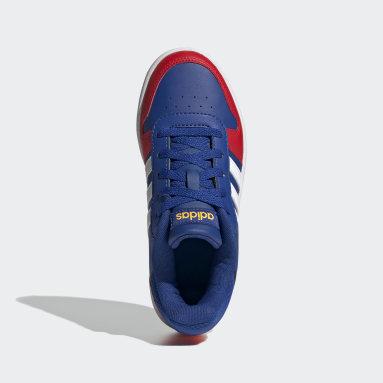 Børn Basketball Blå Hoops 2.0 sko
