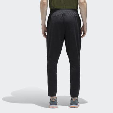 Men Training Black Climacool Knit Pants