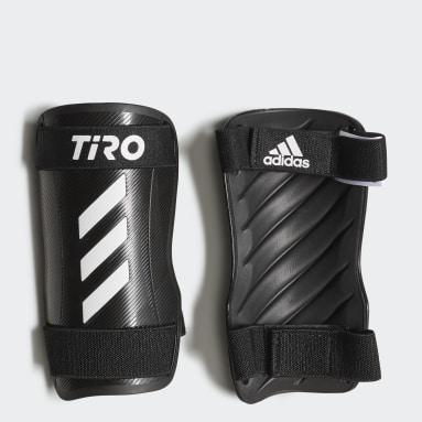 Football White Tiro Training Shin Guards