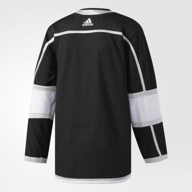 Maillot Kings Domicile Authentique Pro noir Hockey