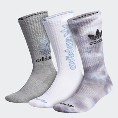 Men Originals Multicolor Colorwash Crew Socks 3 Pairs