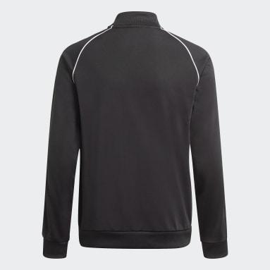Veste de survêtement Adicolor SST noir Adolescents Originals