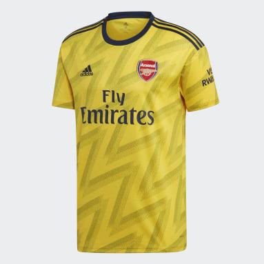 Men Football Yellow Arsenal Away Jersey