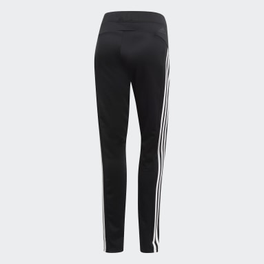Women Sport Inspired Black ID 3-Stripes Skinny Pants