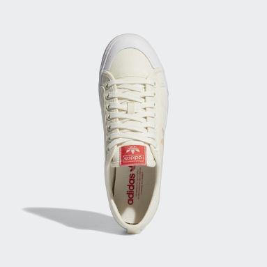 Originals White Nizza Trefoil Shoes