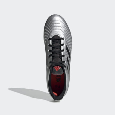 Calzado de Fútbol Predator 19.4 Multiterreno Plata Hombre Fútbol