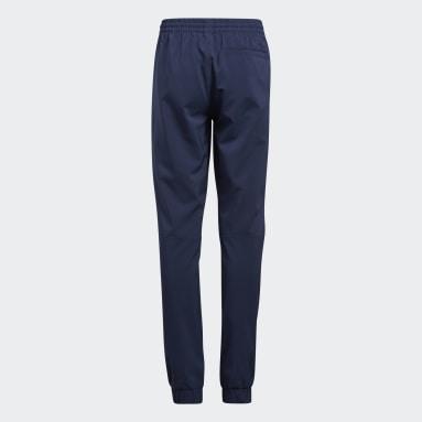 Děti Golf modrá Sportovní kalhoty Primegreen AEROREADY