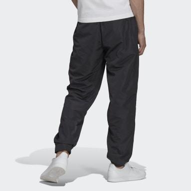 Muži Originals černá Sportovní kalhoty Adicolor