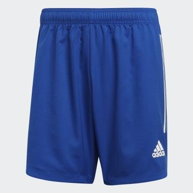 Short Condivo 20 Blu Uomo Calcio