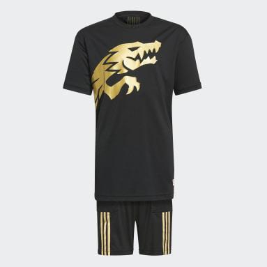 черный Комплект: футболка и шорты adidas x LEGO® NINJAGO®