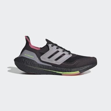 Tenis Ultraboost 21 Gris Mujer Running