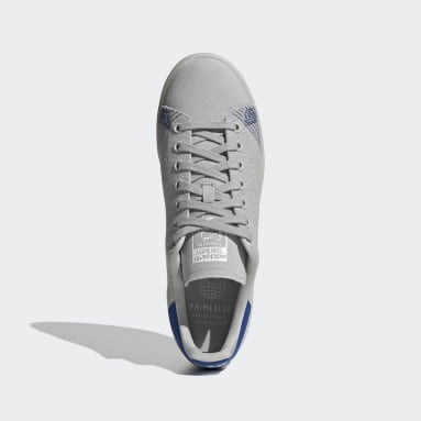 Men's Originals Grey Stan Smith Primeblue Shoes
