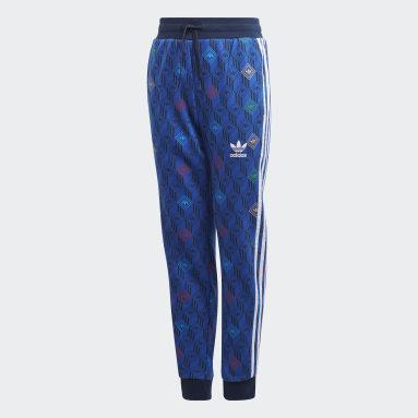 เด็ก Originals สีน้ำเงิน กางเกงขายาว