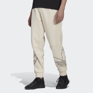 Mænd Originals Hvid Graphics Tricolor joggingbukser
