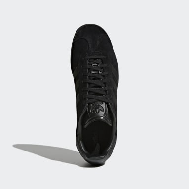 Sapatos Gazelle Preto Mulher Originals