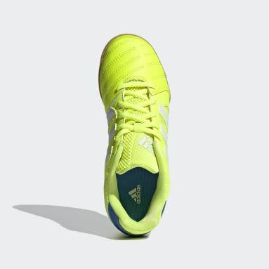 Chaussure Top Sala Jaune Enfants Futsal