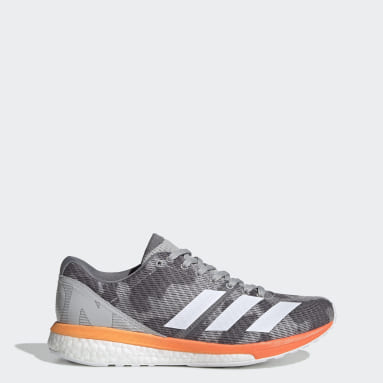 Women's Running Grey Adizero Boston 8 Shoes
