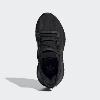 Genç Originals Siyah U_Path Run Ayakkabı