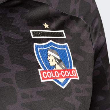 Camiseta Visitante Club Colo-Colo Negro Hombre Fútbol
