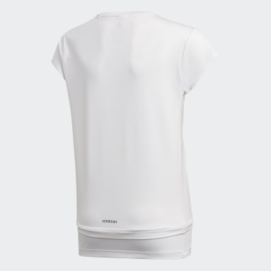 Camiseta Branded Blanco Niña Yoga