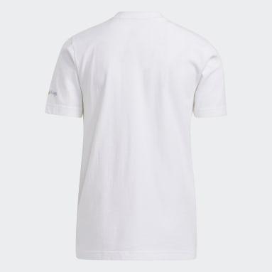 Kids Basketball White Big Kids Boo T-Shirt