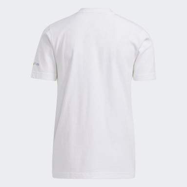 Big Kids Boo T-skjorte Hvit