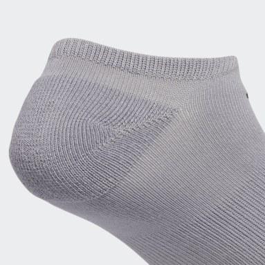 Men's Originals Grey Roller No Show Socks 3 Pairs
