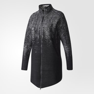 Women Sportswear Black adidas Z.N.E. Pulse Knit Cover-up