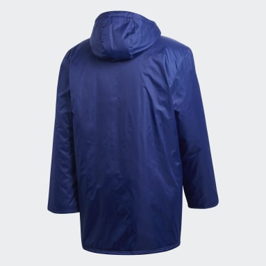 Men Football Blue Core 18 Stadium Jacket
