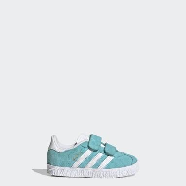 Jungen Originals Gazelle Schuh Türkis