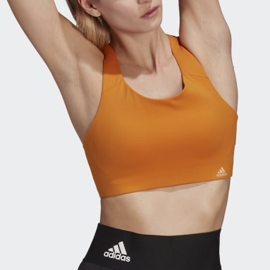 Brassière Ultimate Orange Femmes Trail Running