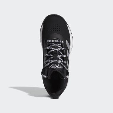 Kids Basketball Black Cross Em Up 5 Shoes Wide