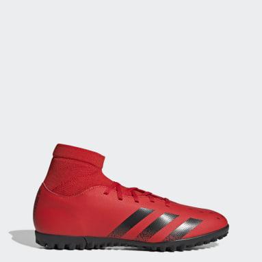PREDATOR FREAK .4 S TF Rojo Hombre Fútbol