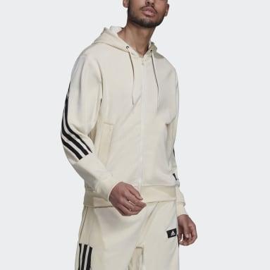 Men Sportswear White adidas Sportswear Future Icons Full-Zip Hoodie