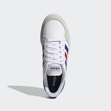 Heren Tennis wit Breaknet Schoenen