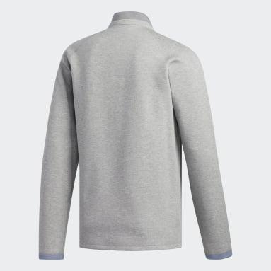 Men Golf Grey Club Sweater