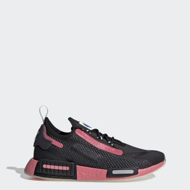 Women Originals Black NMD_R1 Spectoo Shoes