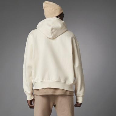 Men Originals White Blue Version Essentials Hoodie