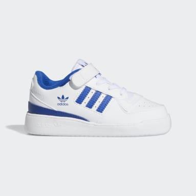 Infants Originals White Forum Low Shoes