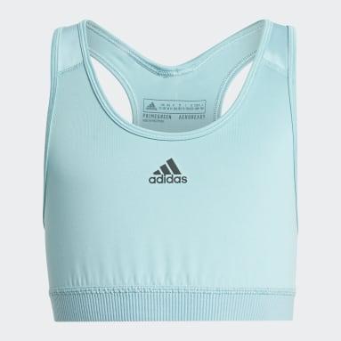 Girls Gym & Training Green Believe This AEROREADY Sports Bra