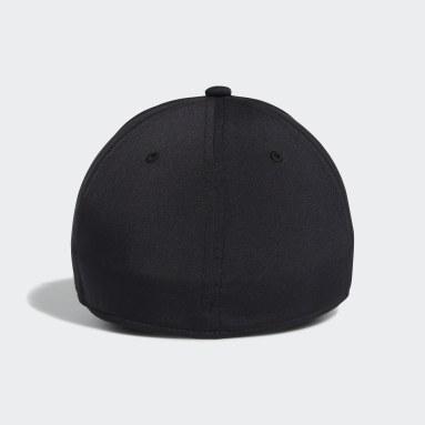 Men's Training Black Gameday Stretch Fit Hat