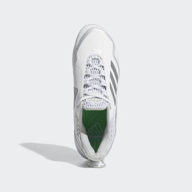 Men's Baseball White Icon 7 Dripped Out Cleats