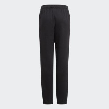 Pantalón Essentials French Terry Negro Niño Sportswear
