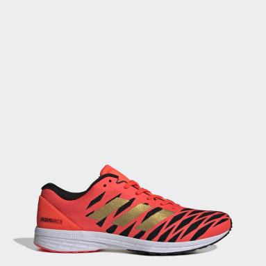 Men Running Orange Adizero RC 3 Shoes