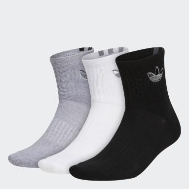 Men's Originals Multicolor Courtside Quarter Socks 3 Pairs